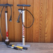 Range of bike pumps