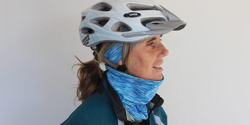 Headband and Neckband Bike Helmet goRide 800w