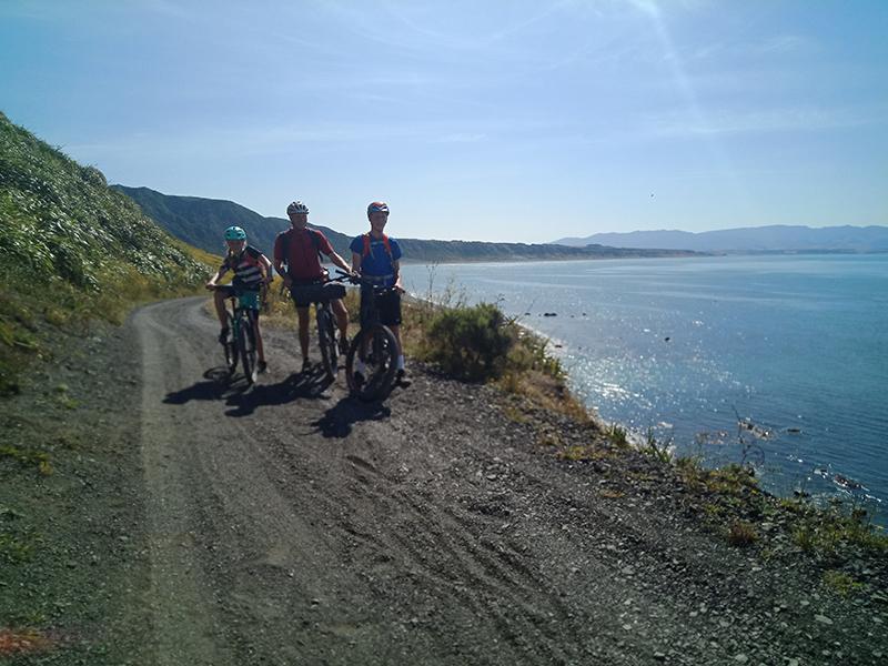 South Coast Rimutaka Cycle trail sandy track goRide