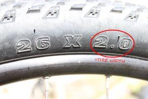 Tire width
