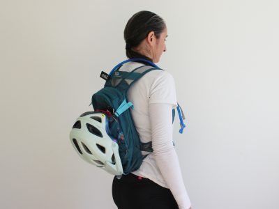 womens hydration backpack with helmet goRide