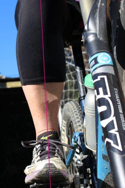 Chi riding pedaling alignmnet knee heel goRide