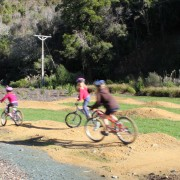 Trailing 1/2 bike & helmet combo - kids on bikes