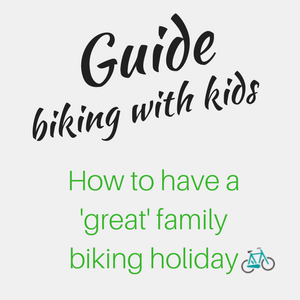a great family biking holiday Guide - white