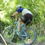 Helmet & endurance glove combo - for mountain bike riding
