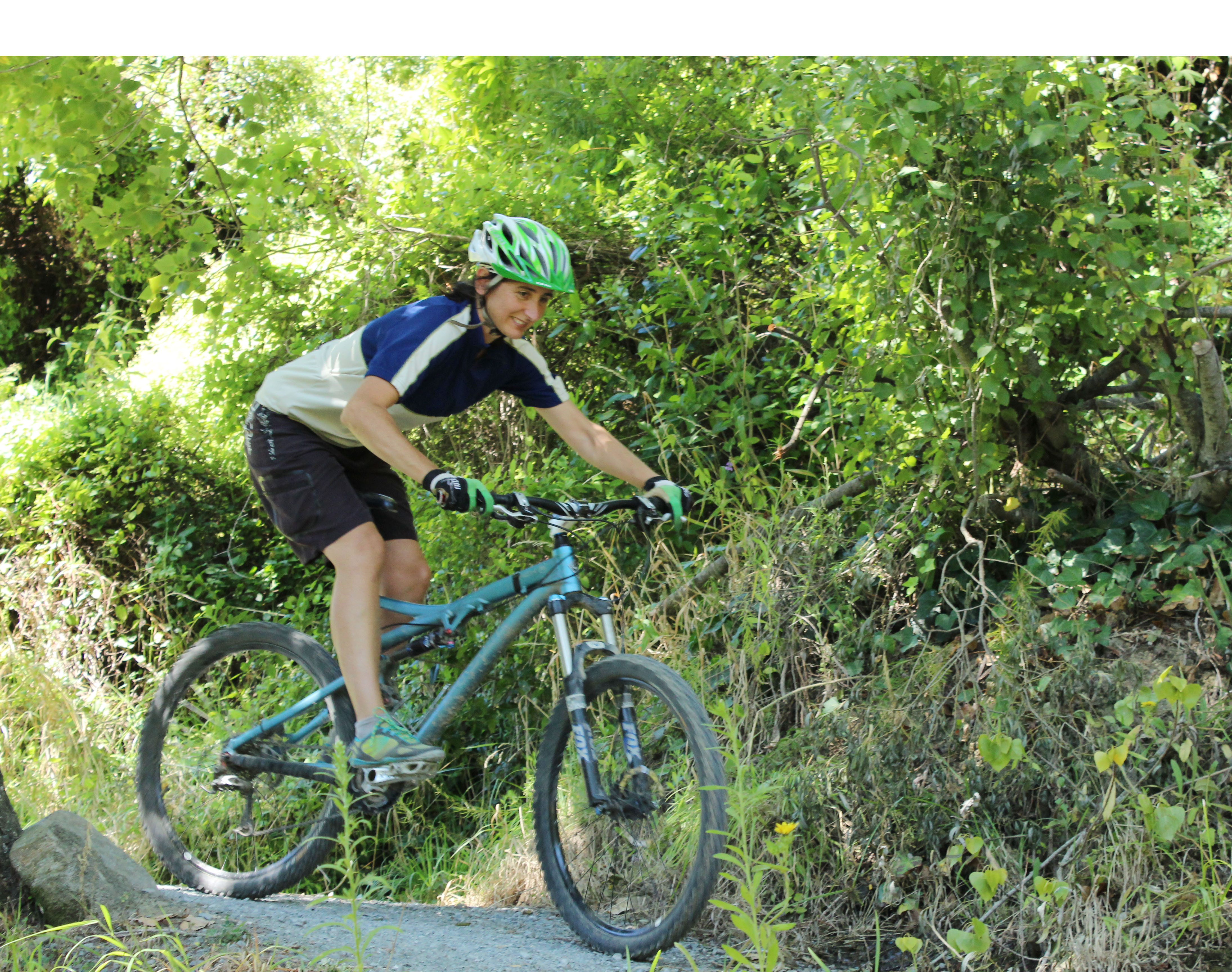 chi riding core control mountain biking 2 points of contact descending goRide
