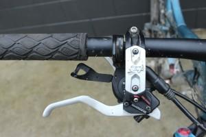 Bike brake levers. Handlebars. goRide