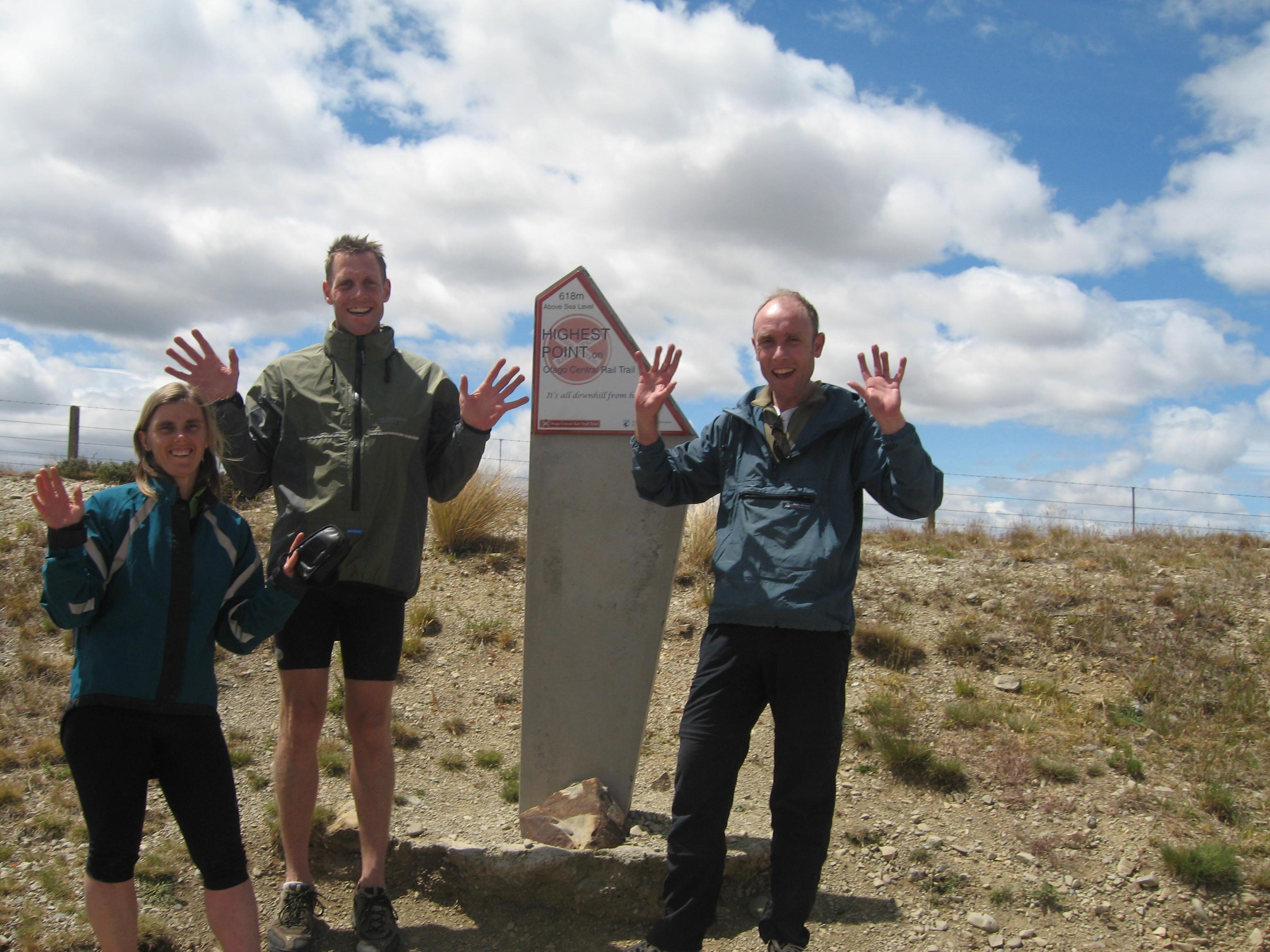 Sam and Dadda Mt Robert tramp 109
