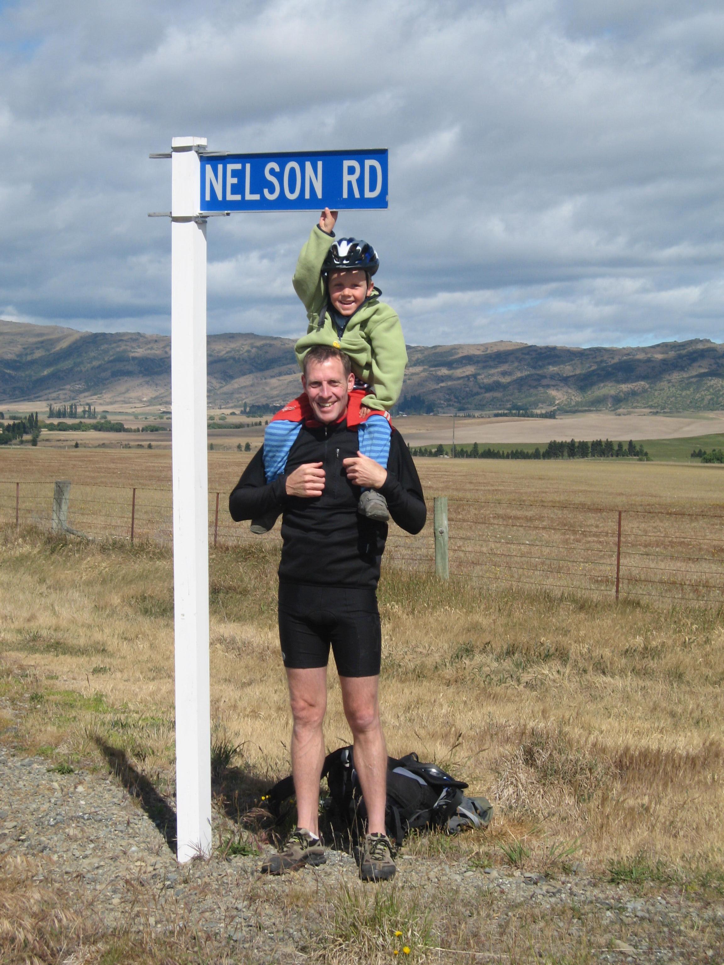 Sam and Dadda Mt Robert tramp 111
