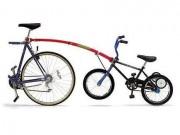 Tow Bar & Kids Recreation Helmet - join 2 bikes