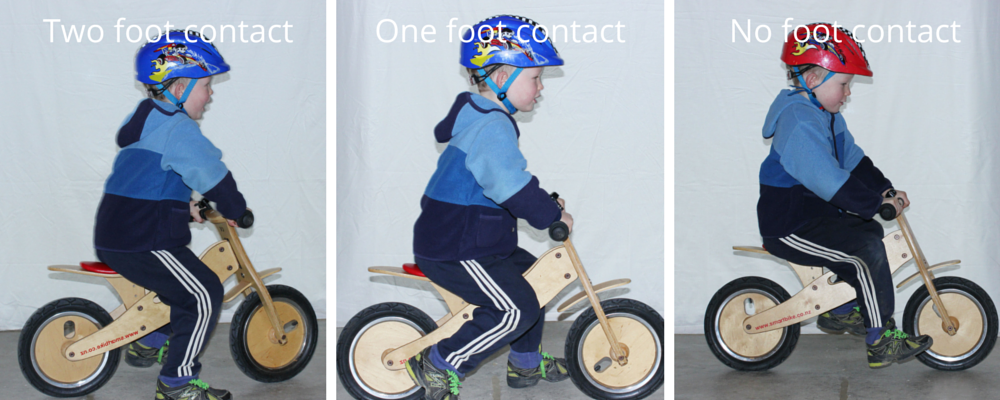 Stages riding balance bike goRide