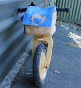 Balance bike handlebar bag goRide