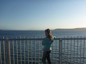 Viewing platform Lake Taupo cycleway.