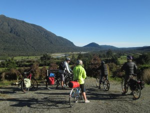 West Coast Wilderness Trail cyclist goRide