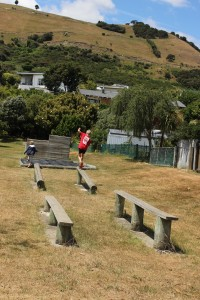 Atawahred pathway nelson clifton terrace school obstacle course Family biking goRide