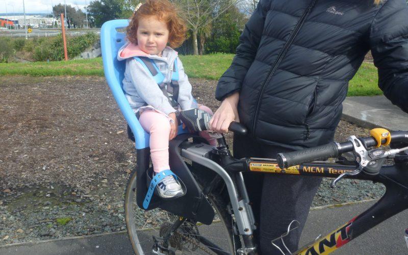 Yepp Maxi Frame Mounted kids bike seat. goRide