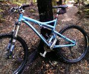 Full suspension Mountain Bike. goRide
