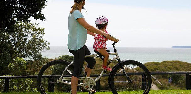 doLittle mid mount kids bike seat. goRide