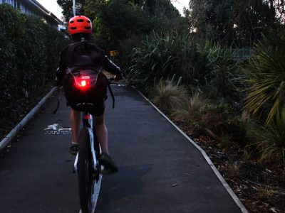 Blinder mob rear bike light attachment bag goRide