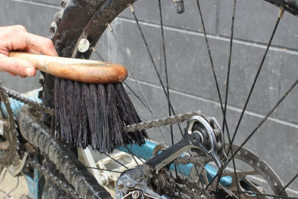 Durable bike cleaning brush chain  goride