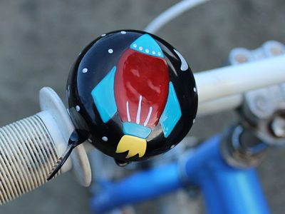 Kids blast off beep bicycle traditional bell bike goRide NZ
