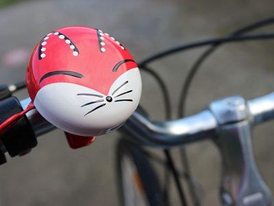 Kids foxy beep bicycle traditional bell bike goRide NZ