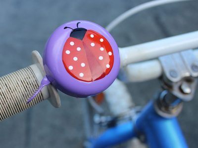 Bicycle Bells are great for track safety.