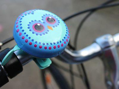 owl beep bicycle kids traditional bike bell goRide NZ 600w