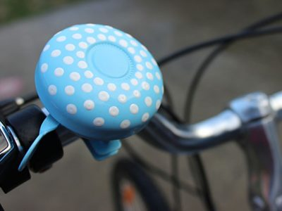 Traditional sky spotty beep bicycle bell goRide 600w v 2