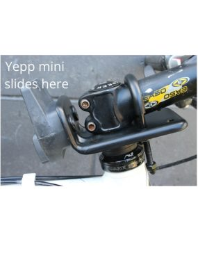 A head adaptor yepp mini mountain bike goRide