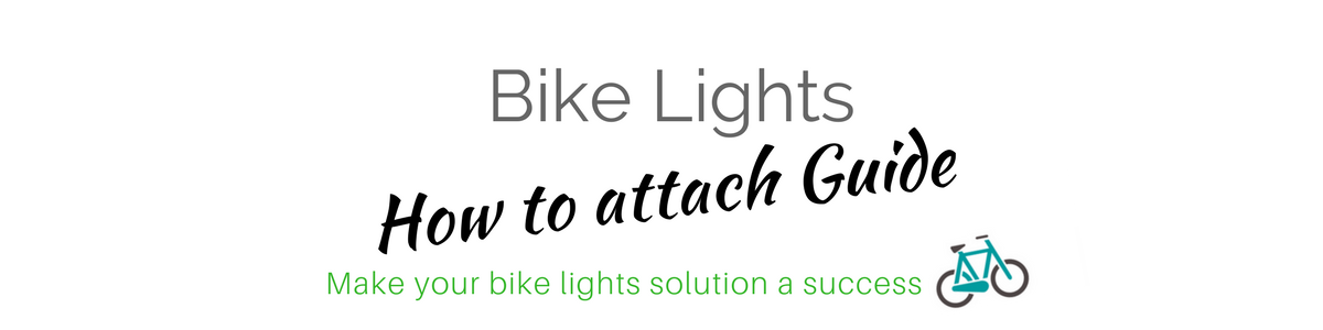 Bike Lights How to Attach