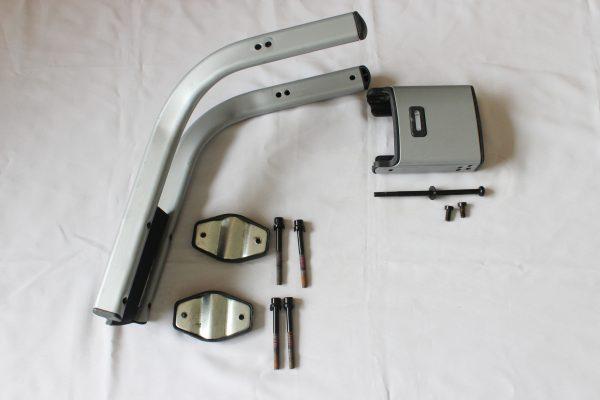 Frame mount attachment pieces