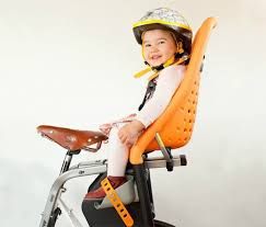 Child in Yepp Maxi Frame Mount. goRide
