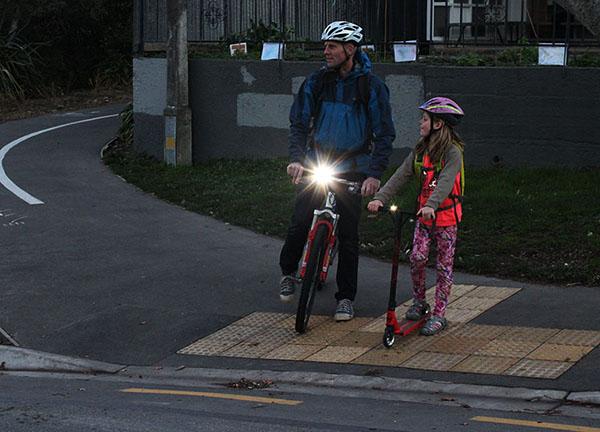Visibility bike jacket - be seen