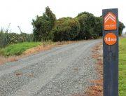 Westcoast Wilderness Trail signposting every 1 km goRide