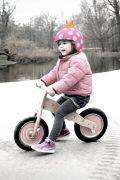 Egg helmet & skin - balance bike rider