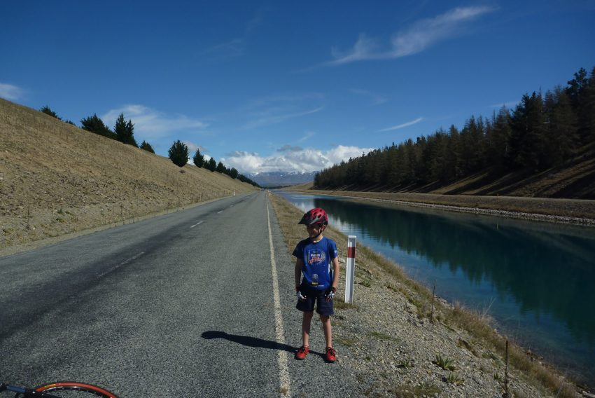 Tekapo Canals. Alps to Ocean. goRide