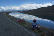Trailing 1/2 bike & helmet combo - NZ cycle trail riding