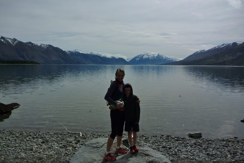 Lake Ohau. Alps to Ocean. goRide