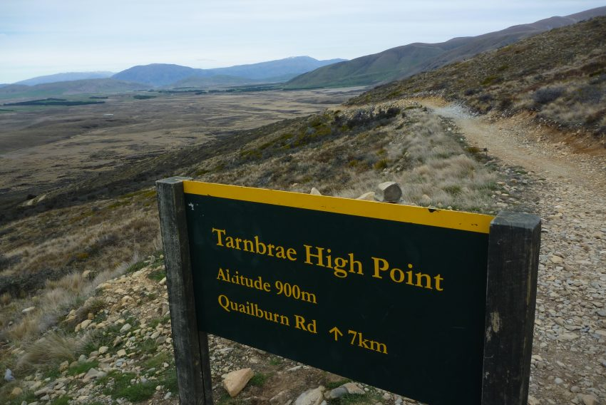 Tambrae High Point. Alps to Ocean. goRide