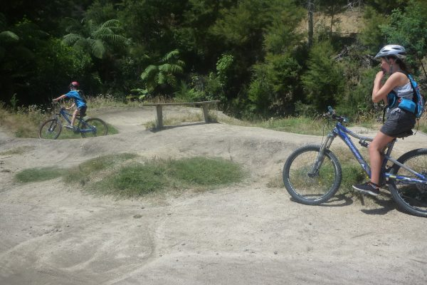 Kaiteriteri Mountain Bike Park pump track.goRide
