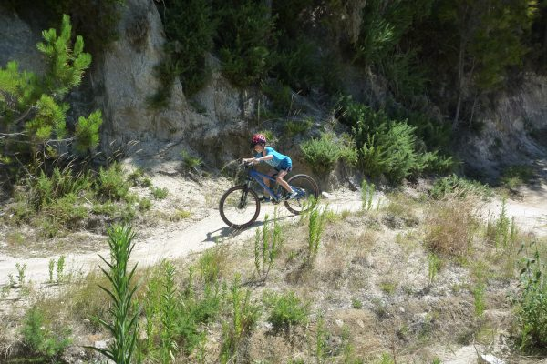 Halfpipe. Kaiteriteri Mountain Bike Park. goRide