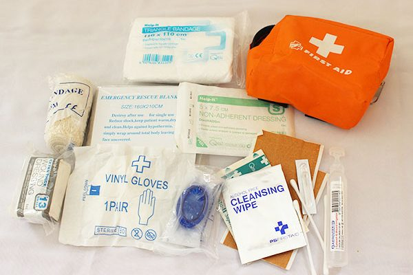 Compact First Aid Kit for Bikers
