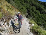Mountain bike specific - womens mountain bike saddle & 3/4 padded pant
