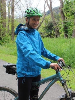 Waterproof jacket. Keep Warm on a bike. goRide