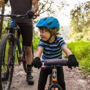 Handlebar bag & Toddler Helmet combo - balance bike