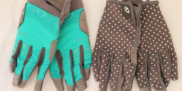 Women urban and mountain biking glove goRide 400w