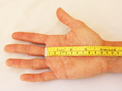 measurement for bike gloves