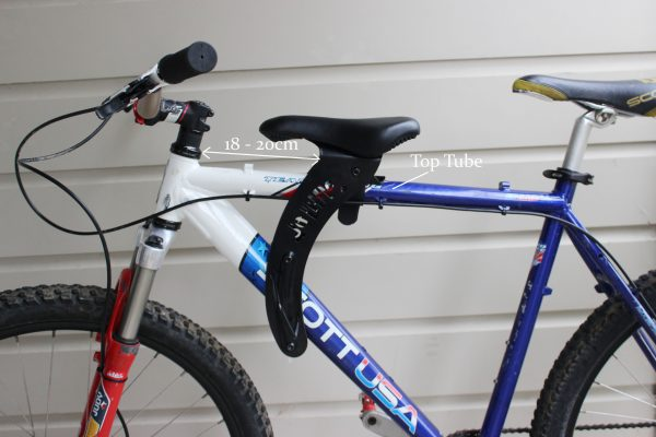 Do little goRide 18-20cm back top tube