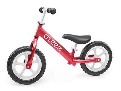 Red Cruzee balance bike goRide 400w balance bike page